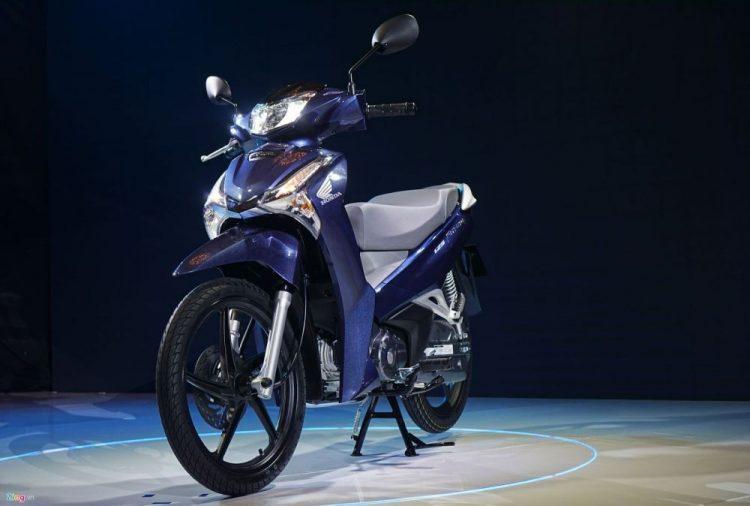 Honda Blade được thiết kế đẹp mắt